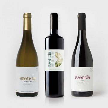 Estuche de vino: 3 botellas (Tinto + Blanco + Chillout)