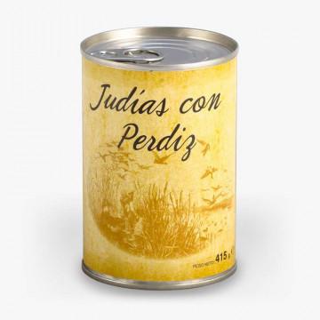 Judías con Perdiz Huertas