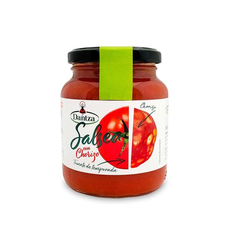 "Tomate con Chorizo ""Salsea"" Dantza"