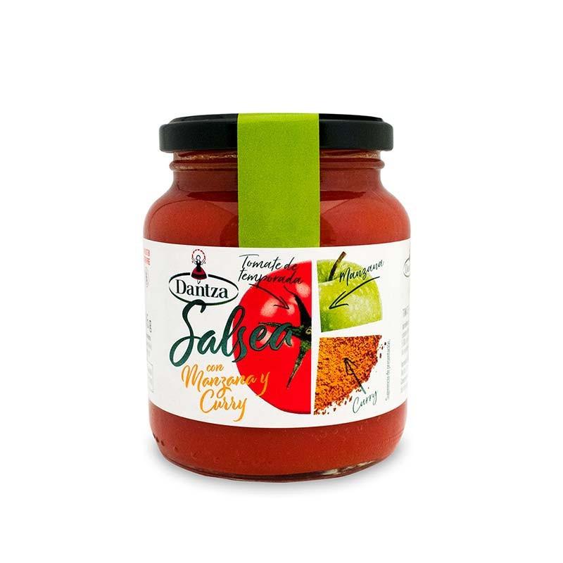 "Tomate con Manzana y Curry ""Salsea"" Dantza"