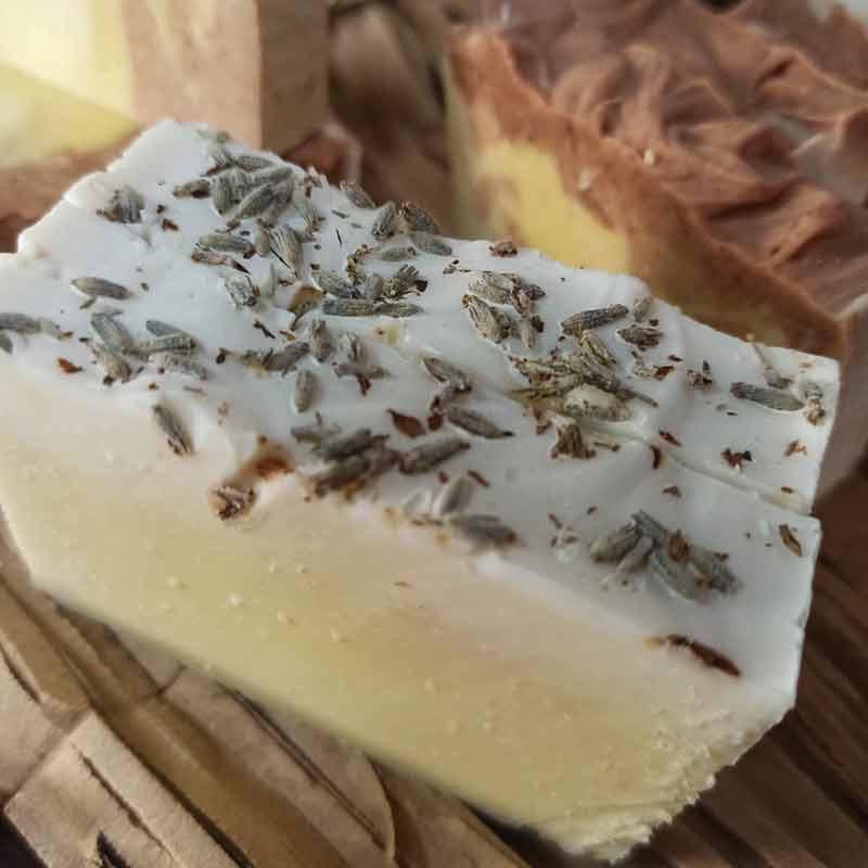 Jabón artesanal 100% natural (todo tipo de piel)