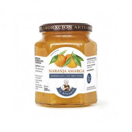 Mermelada artesana con fructosa de naranja amarga La Artesana