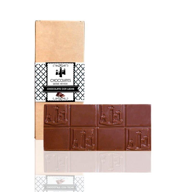 "Tableta de Chocolate con Leche ""Sierra Nevada"""