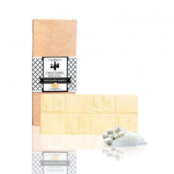 "Tableta de Chocolate Blanco ""Sierra Nevada"""
